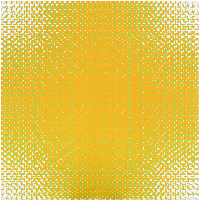 , 'orange-green,' 2018, Galerie Denise René