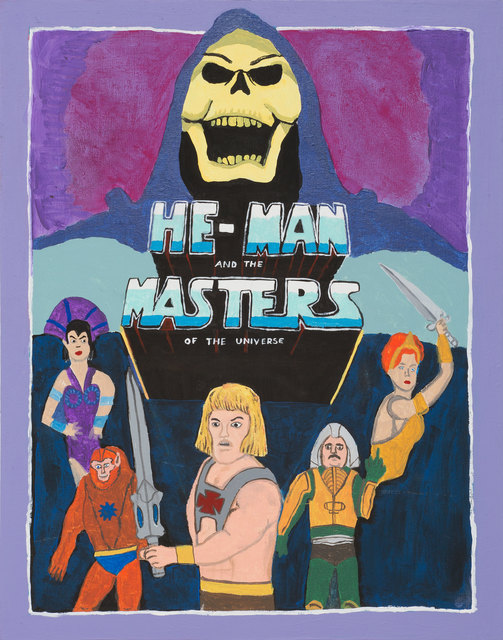 , 'Masters of the Universe,' 2015, Michael Reid