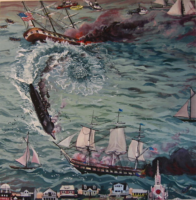 , 'The Battle of Hampton Roads,' 2010, Nina Johnson