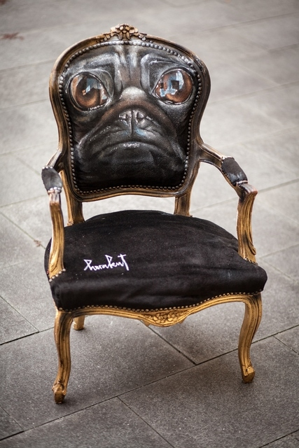 , 'Pug Chair,' 2013, MUCA