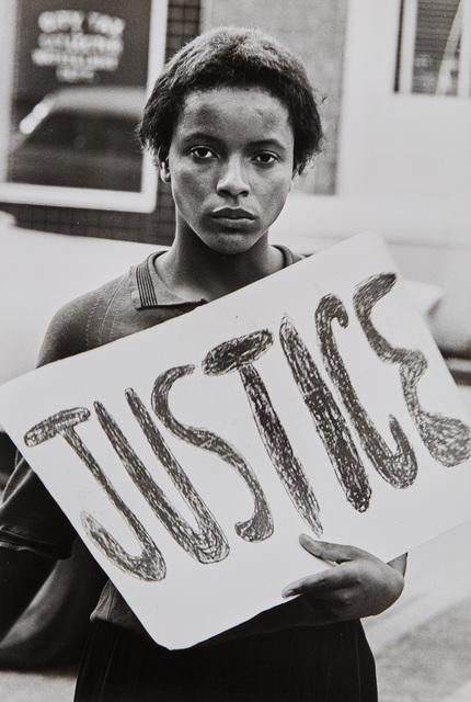 Declan Haun, 'Justice', 1963, Phillips