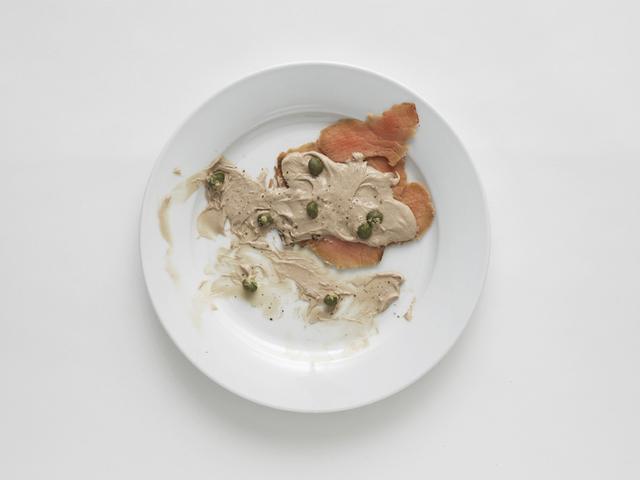 , 'Negative Plate (Vitello tonnato),' 2013, Francesca Minini