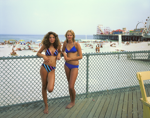 , 'Two Girls, Seaside Heights, New Jersey,' 1980, Rick Wester Fine Art