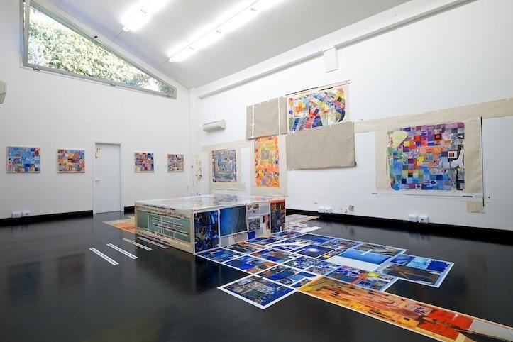 Franklin Evans.  Installation view. Photo: Antonio Maniscalco: Ricardo Gay-Luger.