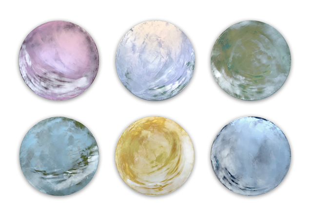 , 'Sea Gems Series (I, II, III, IV, V & VI),' , JoAnne Artman Gallery