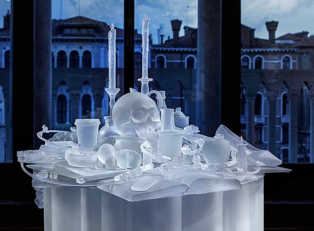 , 'The Frozen Vanitas,' 2015, Boca Raton Museum of Art