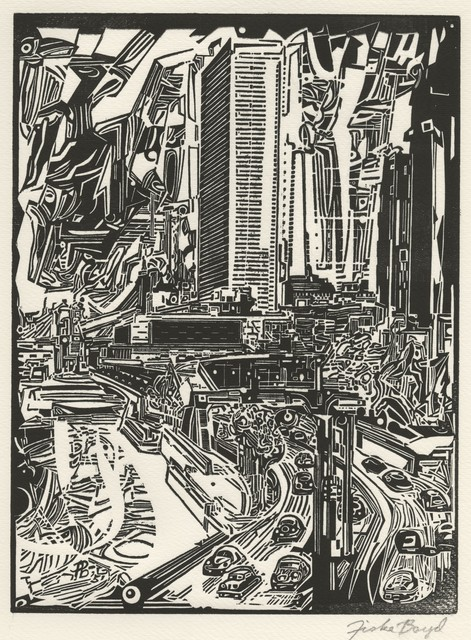 , 'Concept [View of East River Drive, New York City],' 1951, Childs Gallery