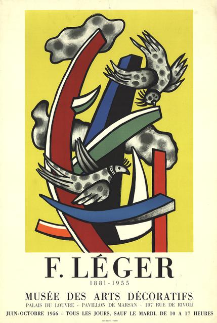 Fernand Léger, 'Musee Des Arts Decoratifs', 1956, ArtWise