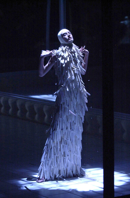 , 'Razor clam shells dress,' Voss-SS 2001, Victoria and Albert Museum (V&A)