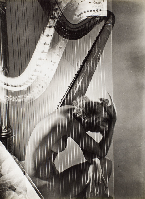 , 'Lisa with Harp,' 1940, Bernheimer Fine Art
