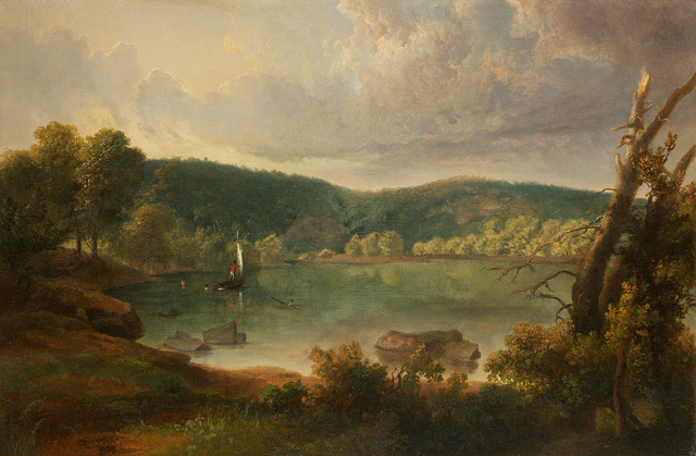 , 'On the Lake,' 1829, Questroyal Fine Art