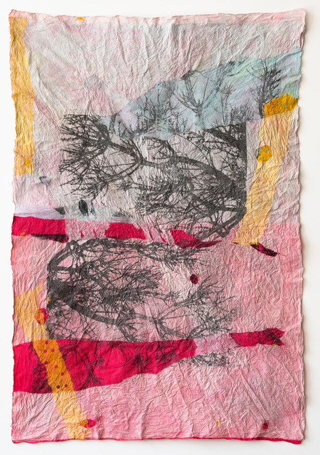 Barbara Straussberg, 'Joomchi/Large Trees Three', 2019, InLiquid