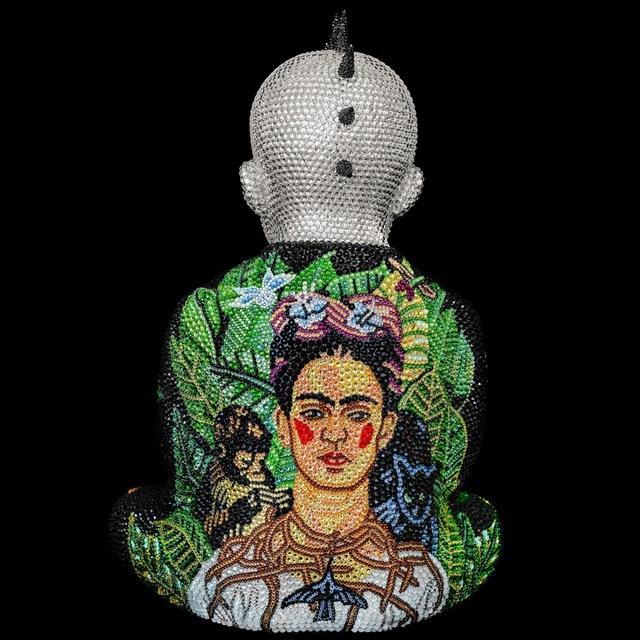 , 'Metis Atash Punk Buddha Me and My Monkeys II feat. Frida Kahlo,' 2018, Samuel Lynne Galleries