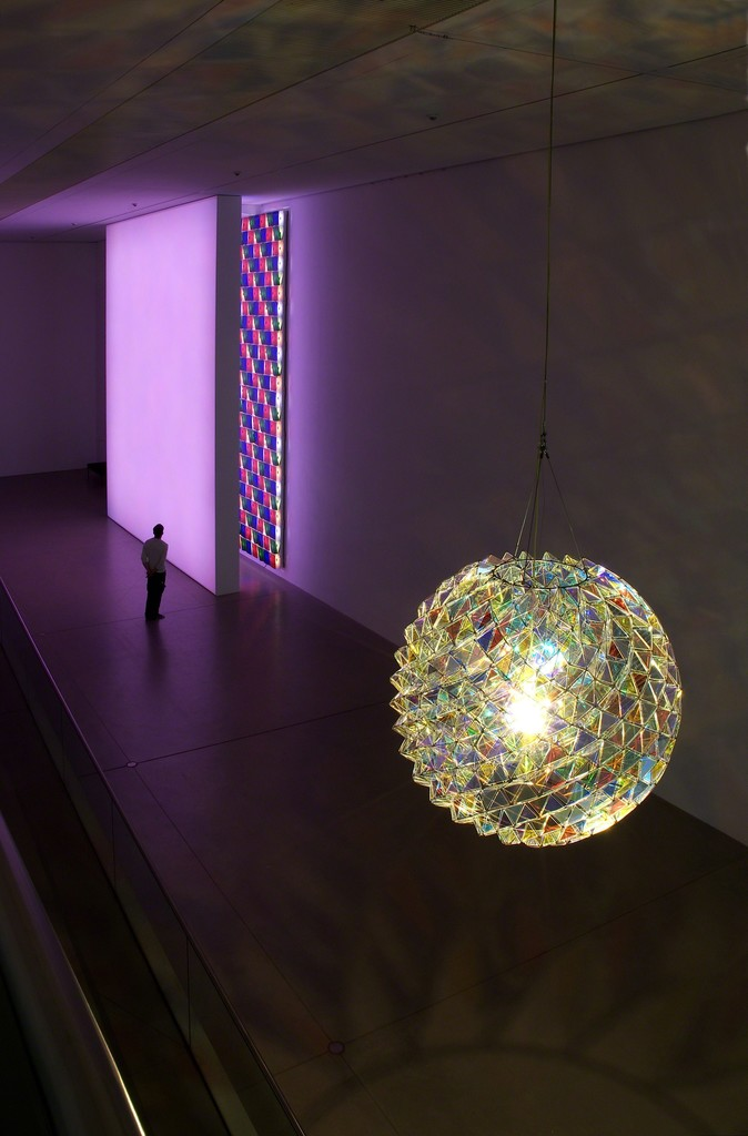 Olafur Eliasson – Works from the Boros Collection 1994 – 2015, Langen Foundation 2015. © Olafur Eliasson, photo: Wolfgang Vollmer