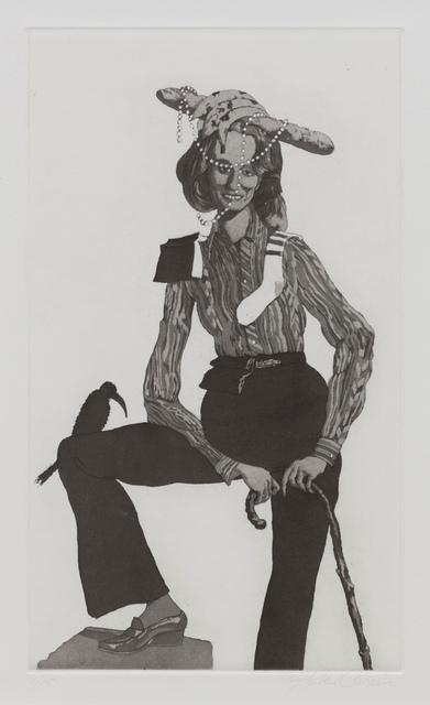 John Currin, 'The Red Shoe', 2016, Gagosian