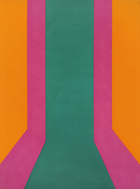 Ron Robertson-Swann, 'Hot Ice', 1970, Painting, Acrylic on canvas, Charles Nodrum Gallery