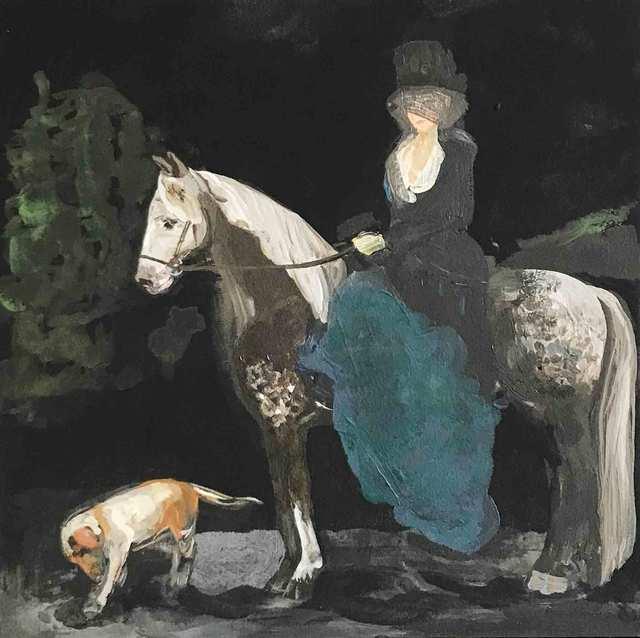 , 'Dappled Widow,' 2017, Sears-Peyton Gallery