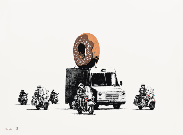 Banksy, 'Donuts Chocolate', 2009, Seoul Auction