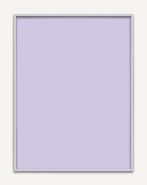 , 'Untitled (Purple Monochrome),' 2015, PRAZ-DELAVALLADE