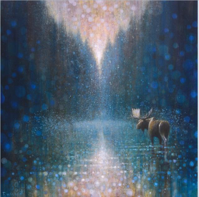 , 'Wading Moose,' , Stremmel Gallery