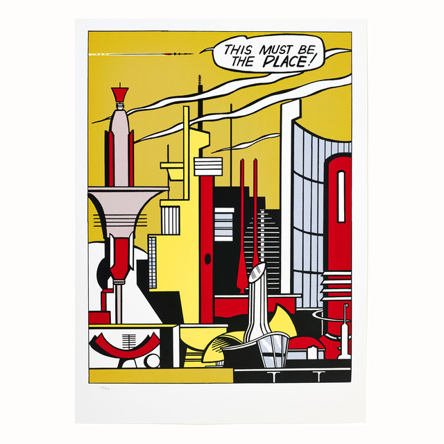 Roy Lichtenstein, 'This Must Be The Place', 1965, Kings Wood Art