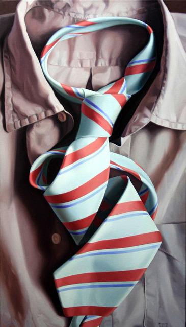 , 'White Tie,' 2012, Galleria Punto Sull'Arte
