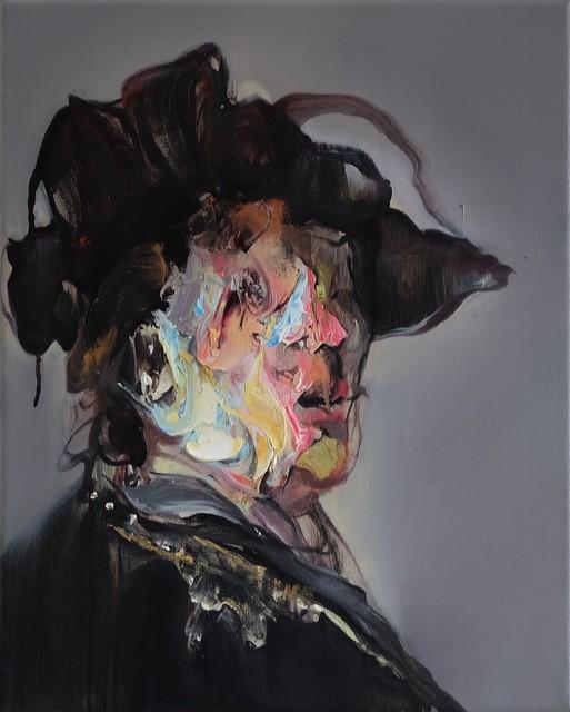 , 'Herrenportrait,' 2019, Lachenmann Art