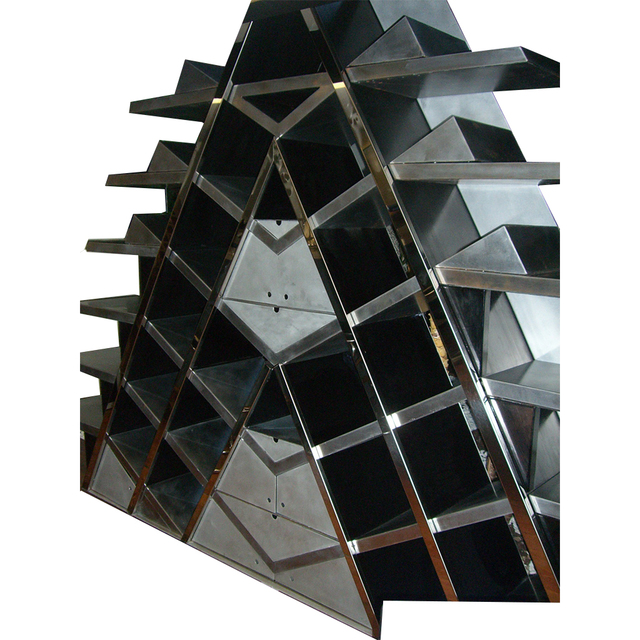 , 'Bibliothèque escalier,' 2010, Galerie Philippe Gravier