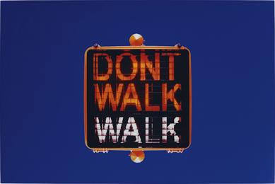 Marijke van Warmerdam, 'Don't Walk, Walk,' 1997, Phillips: Evening and Day Editions