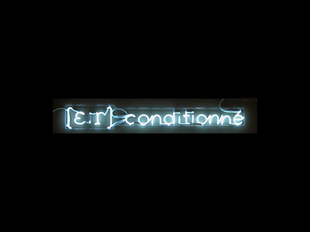 , '[E:r] conditionne (air conditioned),' 2000, Peter Blum Gallery