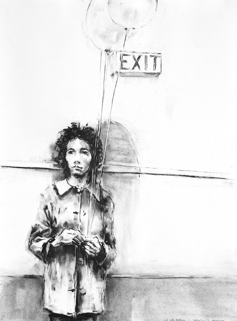 , 'Girl with Balloons,' 2014, GALERIA JORDI BARNADAS