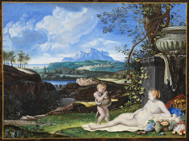 Joseph Werner, 'Venus', 1660s, Painting, Gouache on vellum, Day & Faber