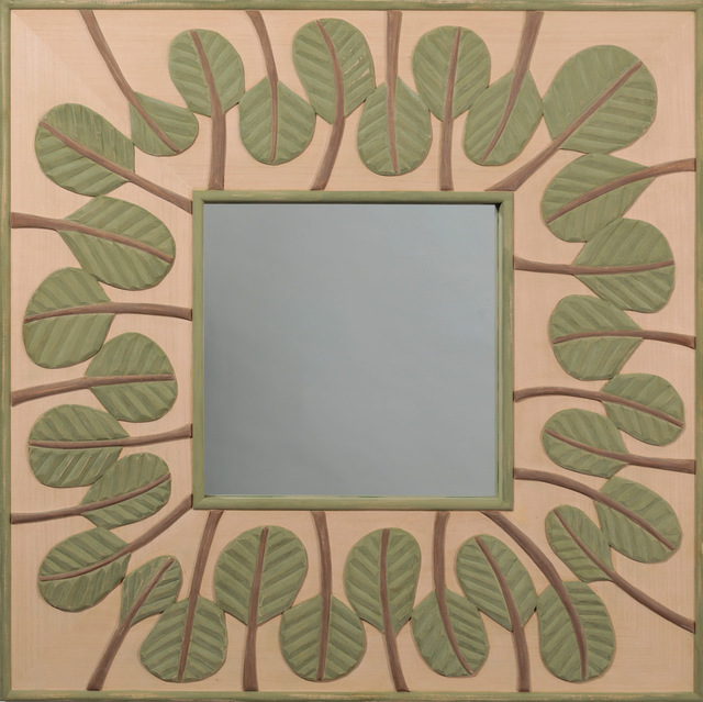, 'Mirror with Green Leaves,' 2018, Gallery NAGA