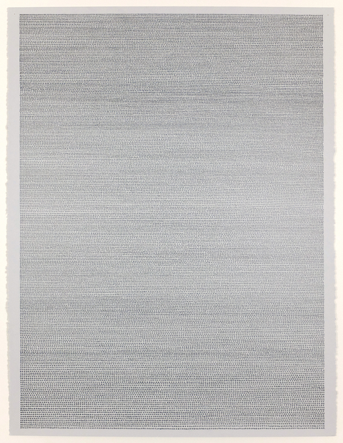 Jon Poblador, 'Untitled (4B)', 2020, Painting, Graphite Pencil on Paper, Alfa Gallery