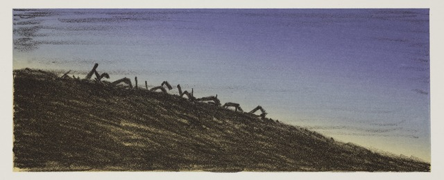 Ed Ruscha, 'Further Landmark Decay', 2006, Hamilton-Selway Gallery Auction
