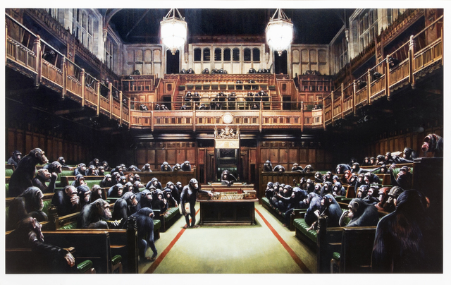 Banksy, 'Monkey Parliament', 2009, Tate Ward Auctions
