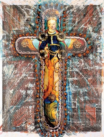 , 'Marriage Cross,' 2016, Mark Borghi Fine Art