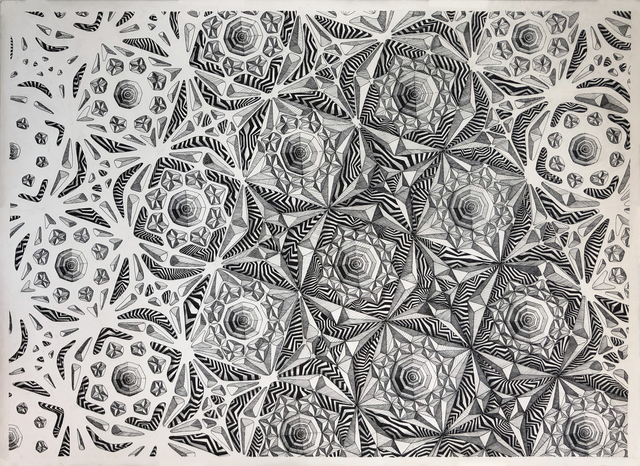 , 'Grid Experiment,' 2018, Mirus Gallery