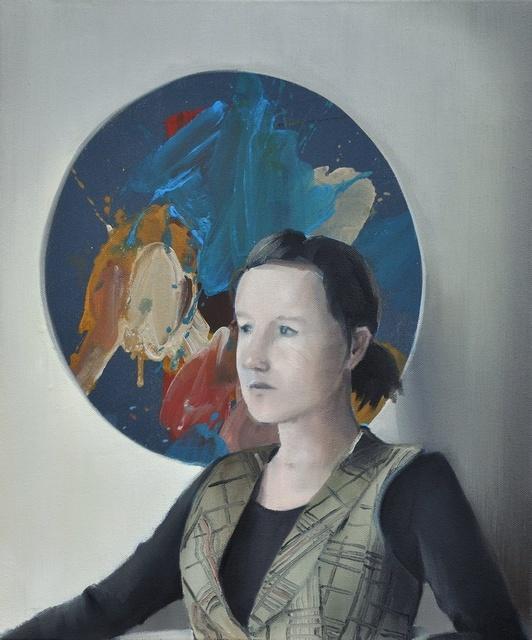 , 'Severine (Tondo),' 2018, Bode Gallery