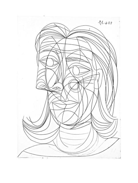 Pablo Picasso, 'Tête de Femme', 1939, John Szoke