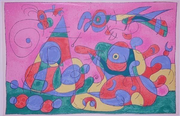 Joan Miró, 'IX. Ubu Roi: Le Trésor et la Mère Ubu', 1966, Contessa Gallery