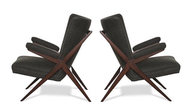 , 'Pair of CA 832 Lounge Chairs,' ca. 1948, Donzella LTD