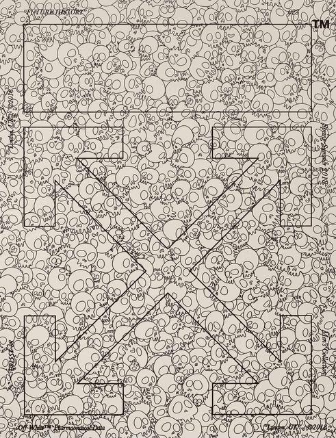 , 'Memento Mori: Off-White,' 2018, Gagosian