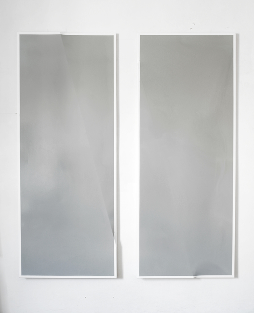 , '# 6f716e  (diptych),' 2014, Le Guern Gallery