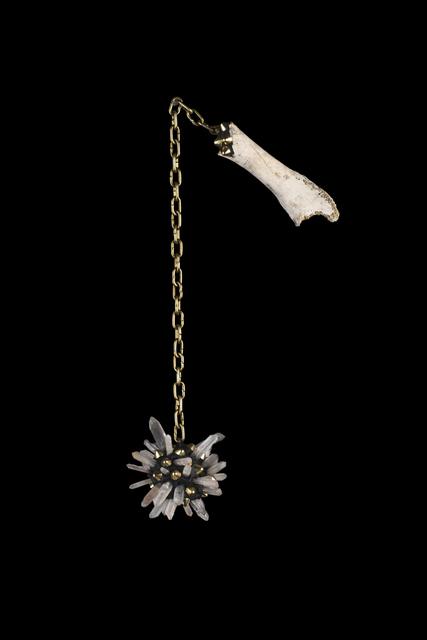 , 'Quartz and Bone Gold Mace of Protection,' , MAIA Contemporary