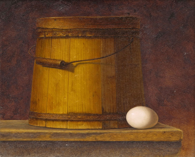 David Brega, 'Still Life with Yellow Bucket and Egg', 1991, Vose Galleries
