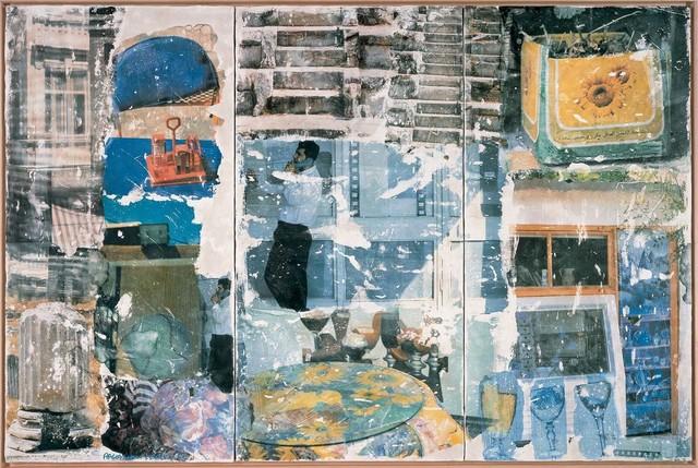 Robert Rauschenberg, 'On Hold (Arcadian Retreat)', 1996, Fresco in artist's frame, Robert Rauschenberg Foundation