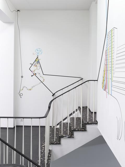 , 'So Long, Enzo (Detail),' 2017, Philipp von Rosen Galerie