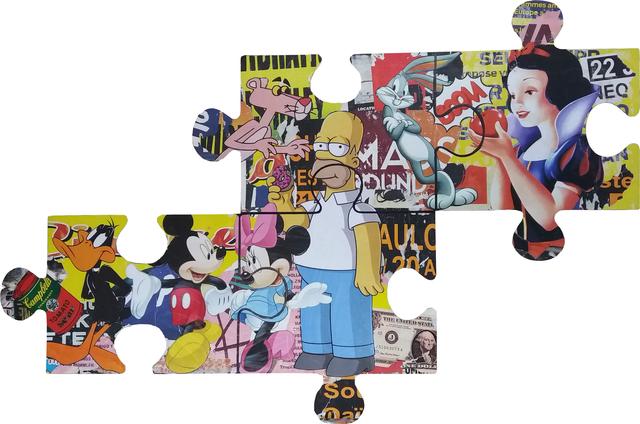 Robert Sgarra, '(GLF) Jigsaw puzzle', 2017, ARTION GALLERIES