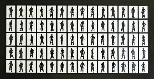 Stefan Thiel, '100 Berlin Based Men (set of 140 pieces) No. 8/10 (+1)', Semjon Contemporary